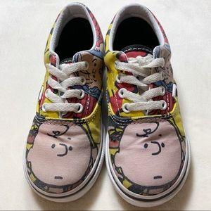 Peanuts Charlie Brown toddler Vans
